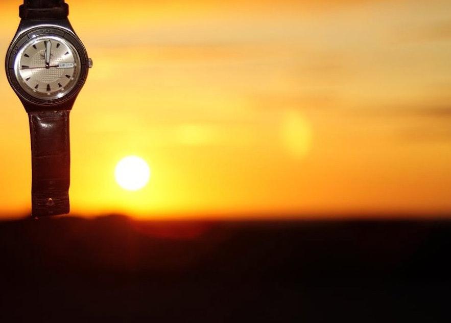 六月的冰島凌晨12點
