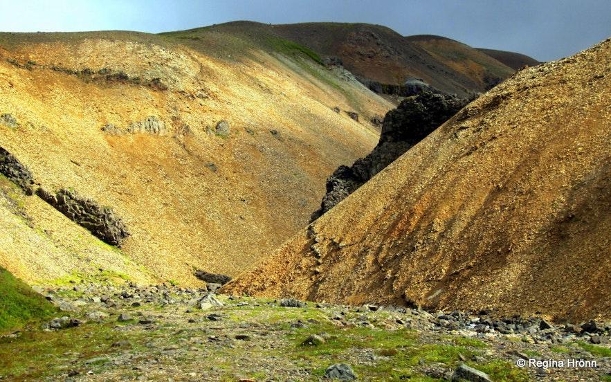 Innra-Hvannagil gorge East-Iceland