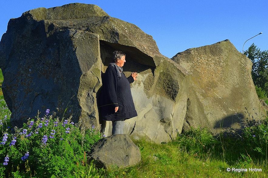 Grásteinn Rock in Reykjavík