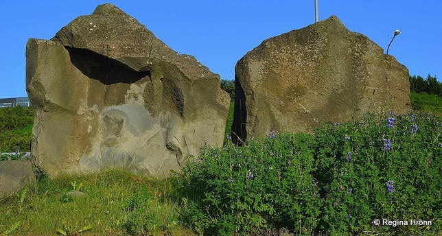 Grásteinn Rock - is this Rock the Home of the Hidden People of Iceland?