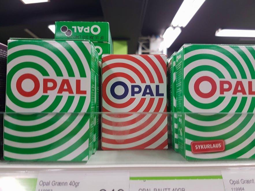 Opal liquorice lozanges