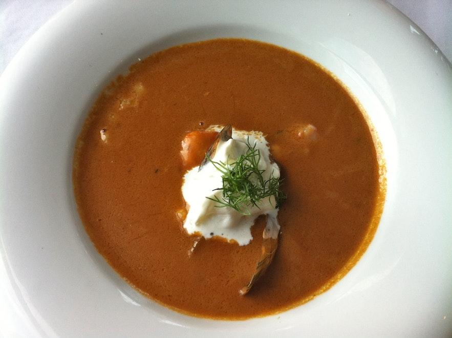 아이슬란드 생선 수프