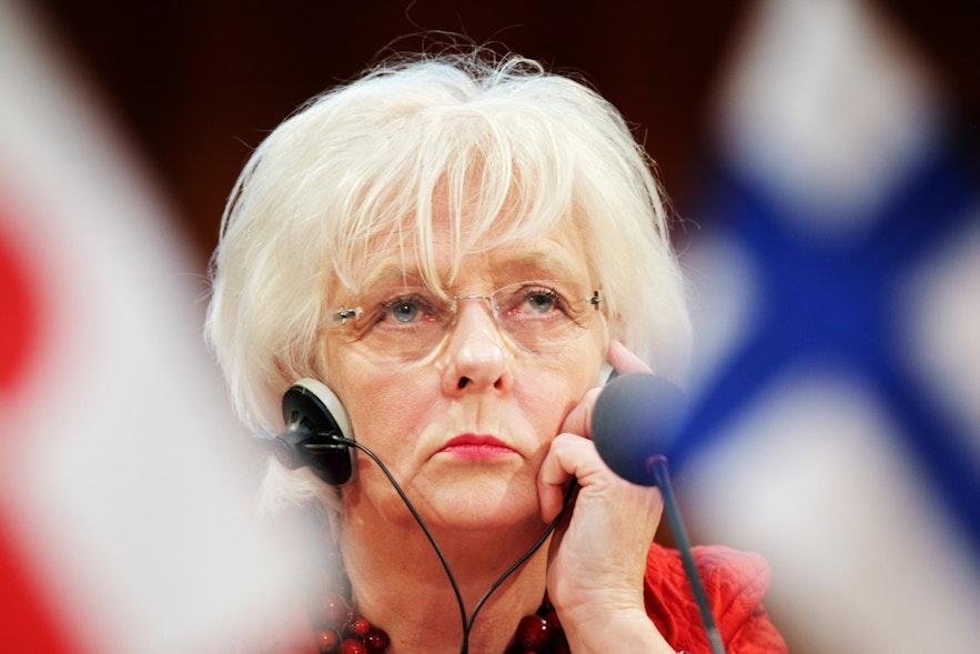Jóhanna Sigurðardóttir, former prime minister of Iceland.
