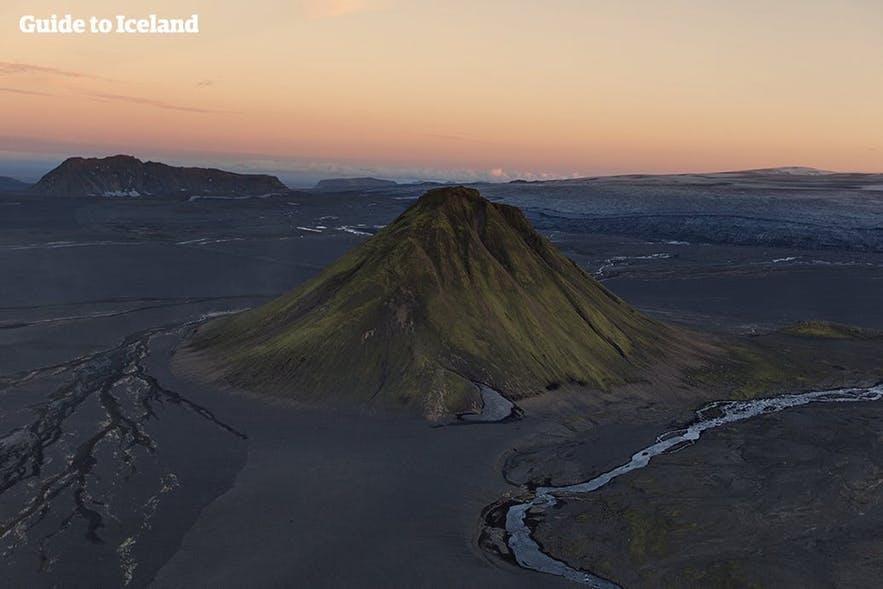 冰島夏季中央內陸高地