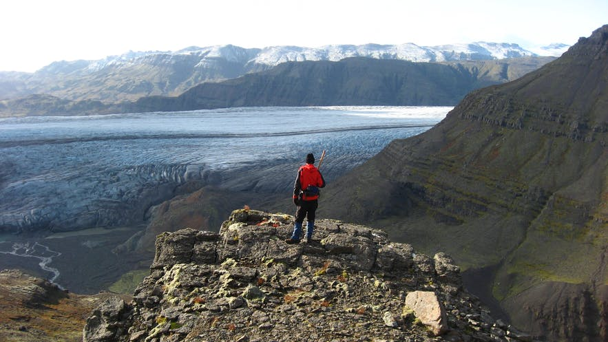 Hiking in Iceland will also present stunning views over a range of eclectic landscapes.