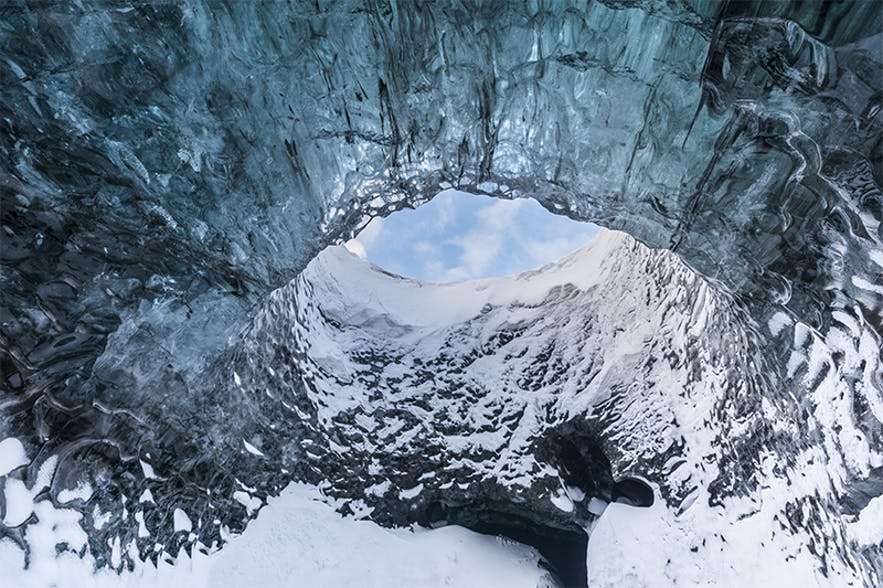ice cave hole