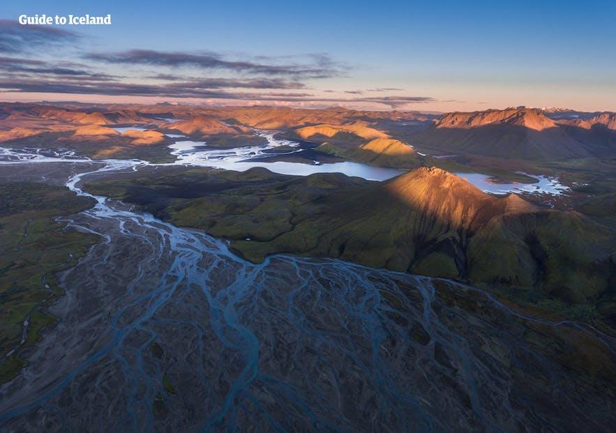 冰岛7月高地的最佳旅行