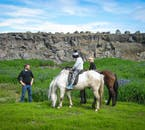 Experienced horse back riders come in all ages.