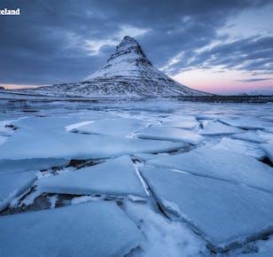 ทัวร์ขับรถเที่ยวเองหน้าหนาว 9 วัน   คาบสมุทรสไนล์แฟลซเนส ชายฝั่งทางใต้ และถ้ำน้ำแข็ง
