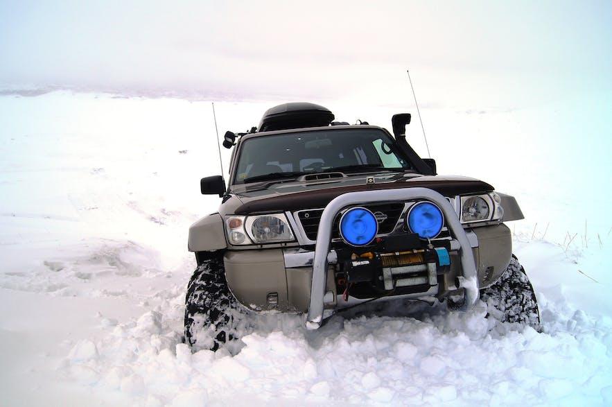 Super Jeep na Islandii