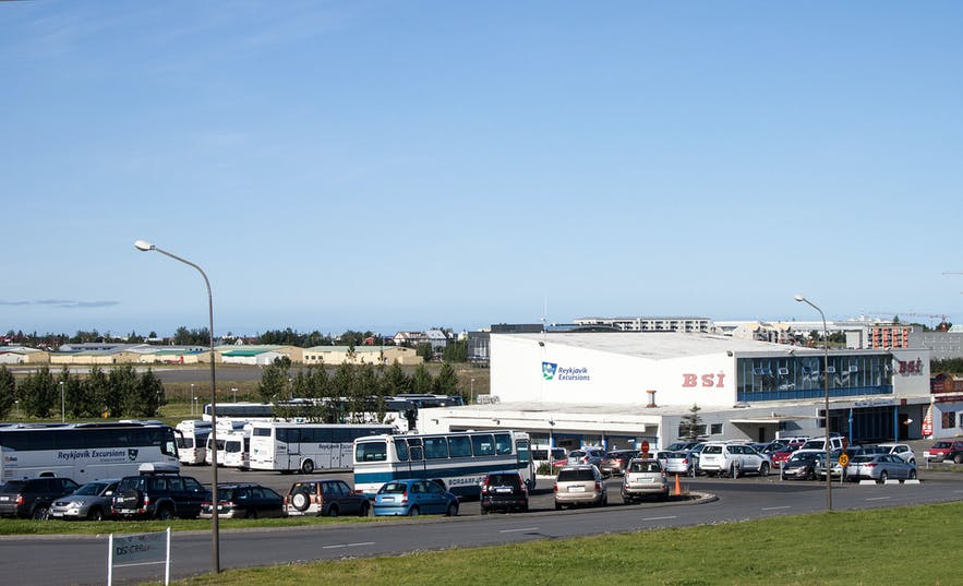 BSI is the main bus terminal for tours in Reykjavík.