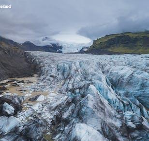 6-дневная зимняя поездка по Исландии | Из Рейкьявика в ледяную пещеру