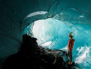 Excursion Rando sur glacier & Grotte de glace depuis Skaftafell en petit groupe