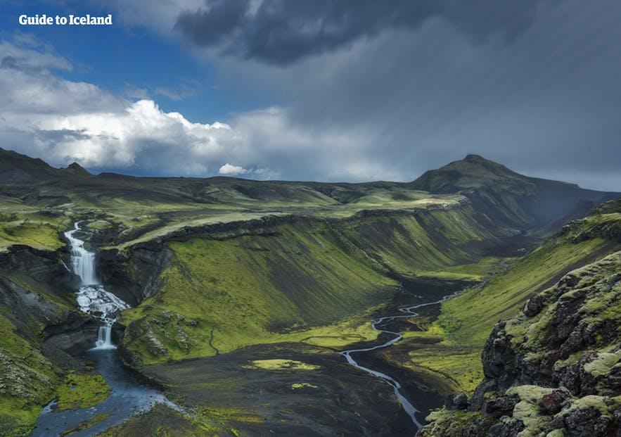 Malowniczy krajobraz Islandii