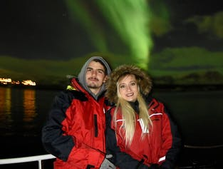 Nordlichter-Bootsfahrt   ab Akureyri