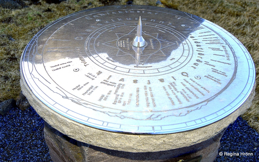 The view-dial at Ólafsvíkurenni