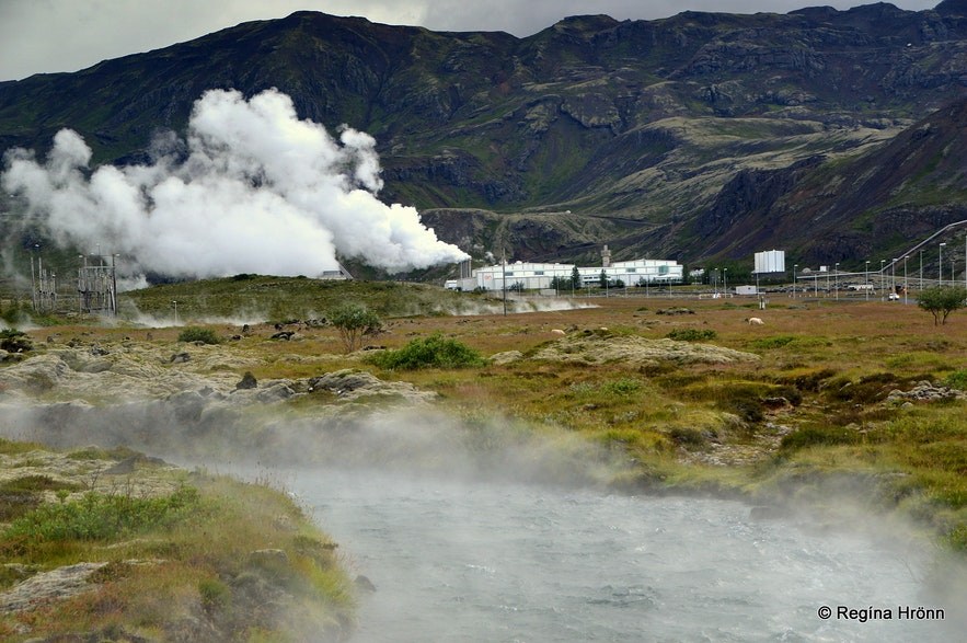 Hengill Geothermal Area at Nesjavellir in South-West Iceland