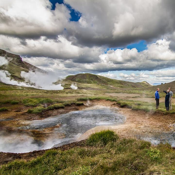 Observing Iceland's hot pools, you'll find it hard to believe that such power could exist on the surface of our planet.