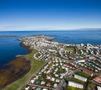Iceland's charming capital city looks even more picturesque from above.