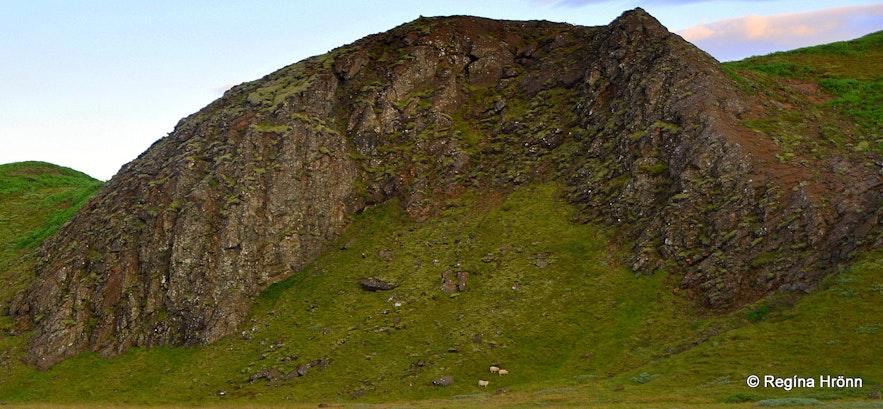 An elf-church in Botnadalur valley SW-Iceland
