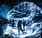 From the village of Vík, you can take a super jeep tour to visit an authentic ice cave in Mýrdalsjökull glacier.