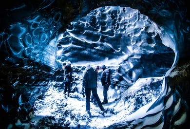 The Secret Ice Cave | Departure from Vik