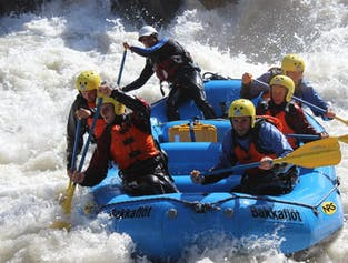 Rafting Tour in Northern Iceland | The East Glacial River