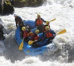 This summer rafting tour in north Iceland is the definition of white water rafting.