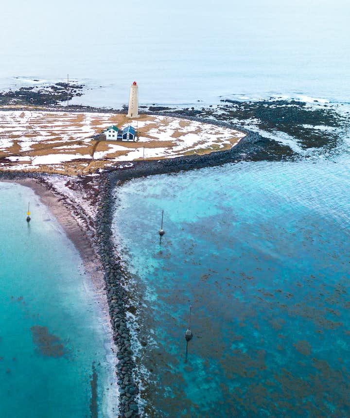 冰島雷克雅維克Grotta 燈塔