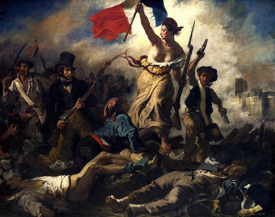 The 1783 eruption at Laki caused food shortages in France, triggering the country's historic revolution.