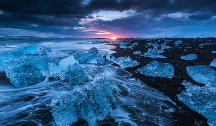 5 dagers vinterlig leiebiltur   Nordlyset, Den gylne sirkel og bresjøen Jökulsárlón