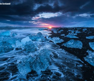5일 겨울 렌트카 여행 패키지   오로라, 골든 서클, 요쿨살론 빙하 호수