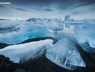 5-дневный зимний тур с самостоятельным вождением | Северное сияние, Золотое кольцо и ледниковая лагуна Йокульсарлон