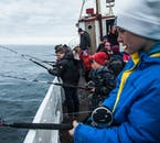 Going fishing in Breiðdalsvík bay is a real local experience to have while in the Eastfjords.