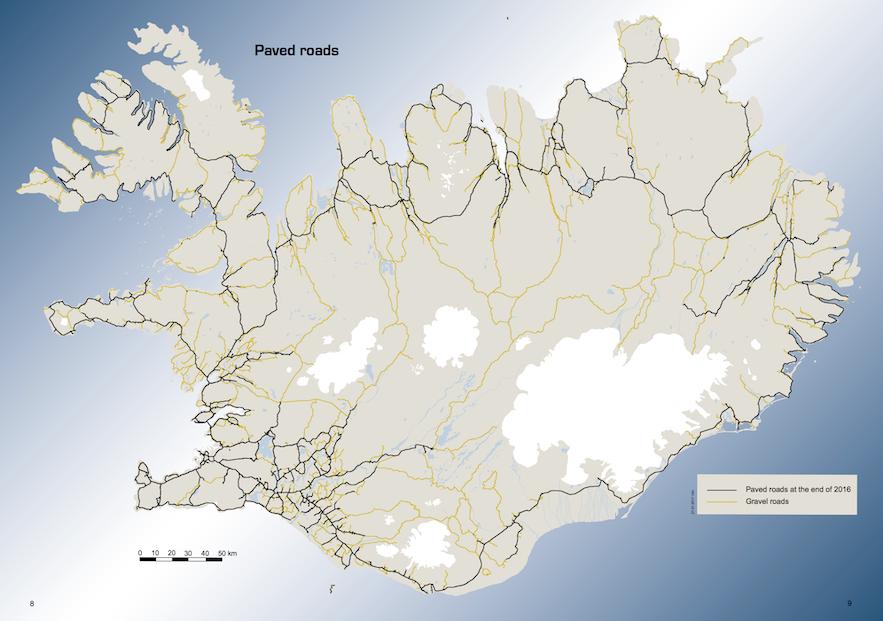 冰島道路情況