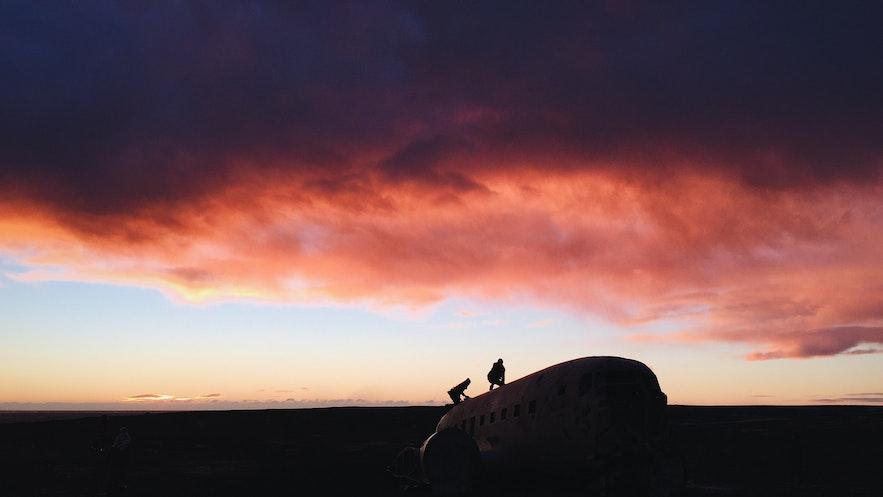 冰島飛機殘骸
