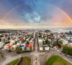 Most people only ever get to see Reykjavík from above by ascending Hallgrímskirkja church.