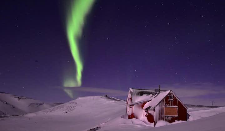 冰岛中央内陆高地冬季两日游|睡在极光下+雪地摩托驰骋雪原