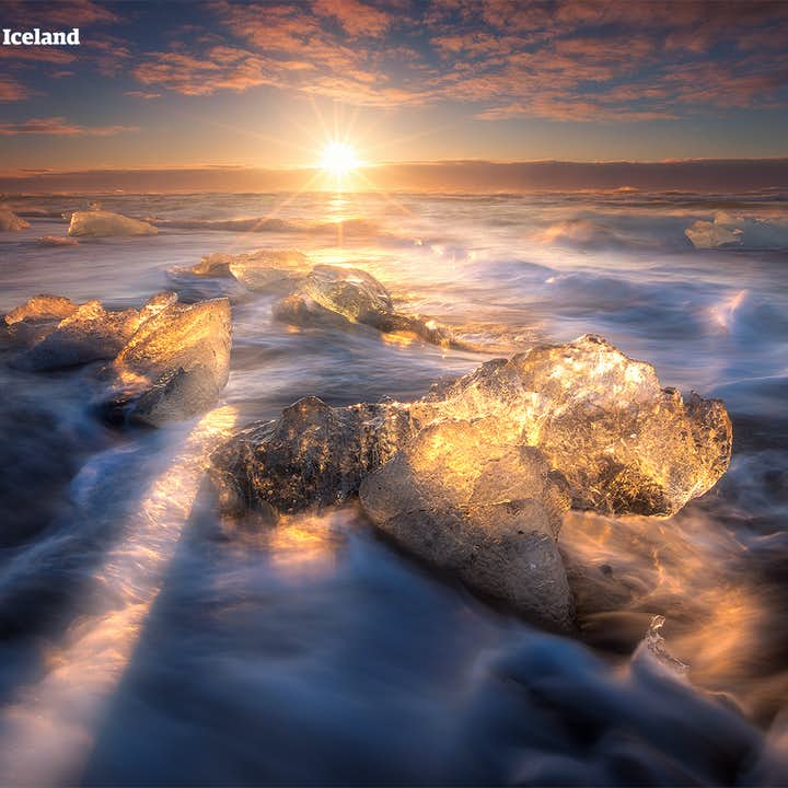 5-dages kør selv-ferie | Reykjavík, Den Blå Lagune, Den Gyldne Cirkel og Jökulsárlón-gletsjerlagunen