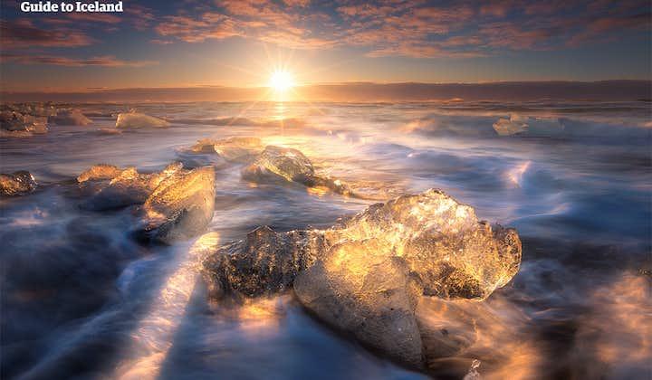 冰岛南岸5日自驾游|黄金圈-杰古沙龙冰河湖