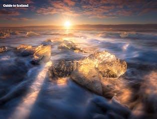 5일 렌트카 여행 패키지   아이슬란드 골든 써클 & 요쿨살론 빙하 호수