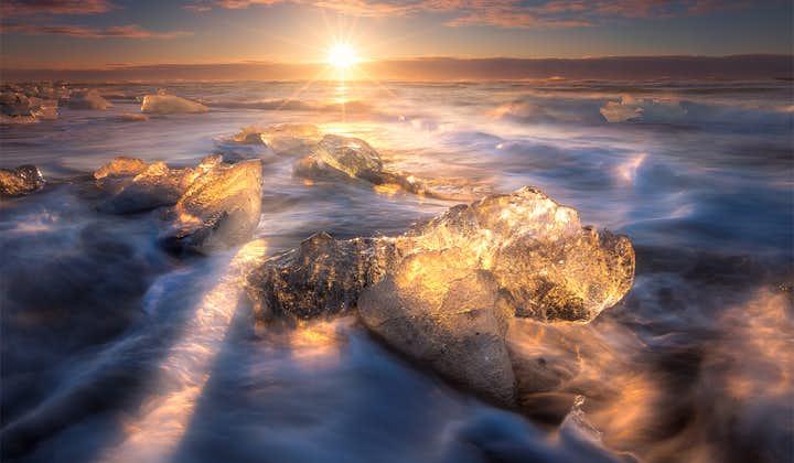 Malownicza 5-dniowa, samodzielna wycieczka po Islandii z Reykjavikiem, Błękitną Laguną i laguną Jokulsarlon