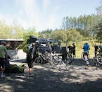 Gearing up for the mountain biking adventure of a lifetime.