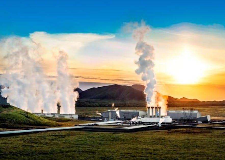Pembangkit listrik tenaga geotermal di Islandia