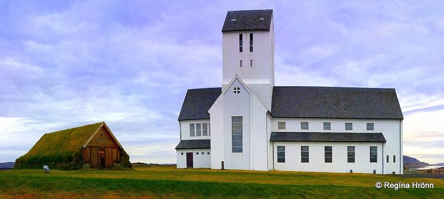 Skálholt and Þorláksbúð in South-Iceland