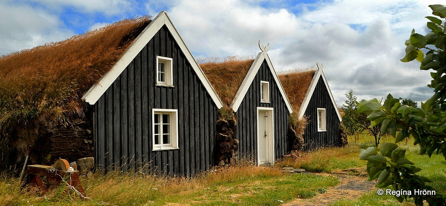 Reykir turf house