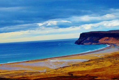 Westfjords Cycling Tour | Latrabjarg Cliff and Raudasandur Beach