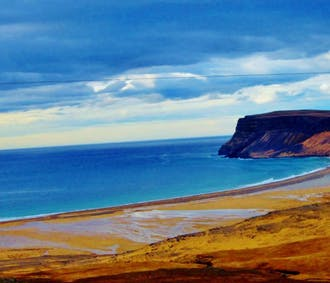 Westfjords Cycling Tour | Raudasandur Beach