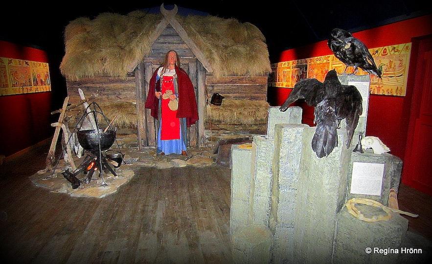 Þórdís the Prophetess at Skagaströnd