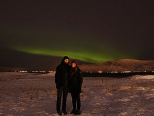 Northern Lights on Videy Island | Walking tour